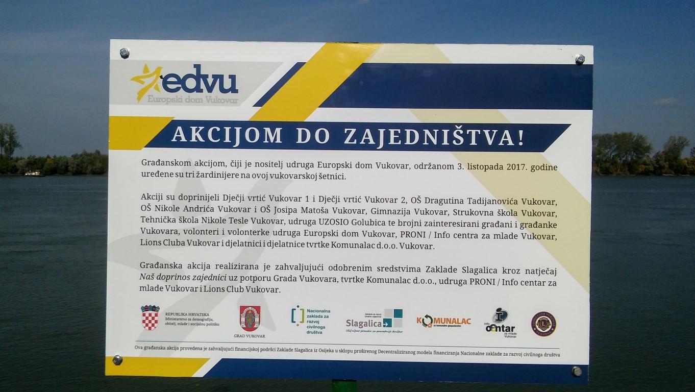 Volonterski centar Vukovar – Održana volonterska akcija